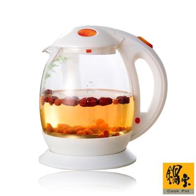 鍋寶-1-7L玻璃養生快煮壺KT-1715