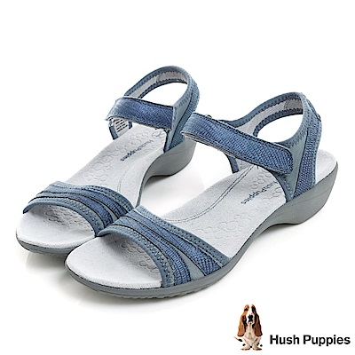 Hush Puppies ATHOS 舒適機能涼鞋-藍色