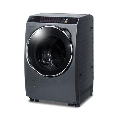 Panasonic國際牌 14公斤 洗脫烘 變頻 滾筒洗衣機 NA-V158DDH 晶燦銀