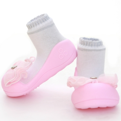 韓國Attipas 快樂學步鞋AQ01-水晶粉紅