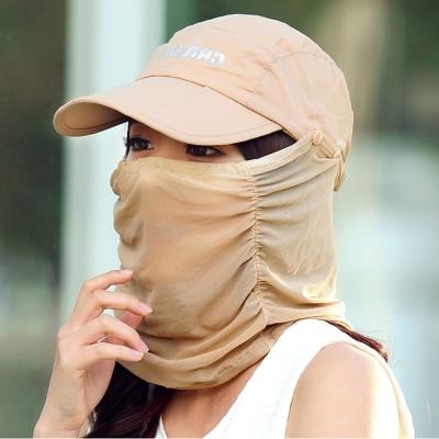 Seoul Show 男女可摺疊防水遮陽棒球帽  卡其色