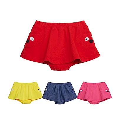 WHY AND 1/2 mini 普普熊棉質萊卡褲裙 6M-4Y 多色可選