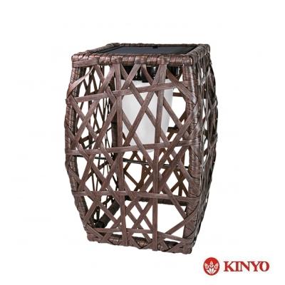 KINYO手工編織太陽能LED庭園燈-小(GL-821)