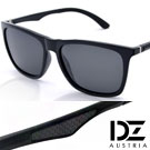 DZ 型翼美學 抗UV 偏光太陽眼鏡墨鏡(黑框灰片)