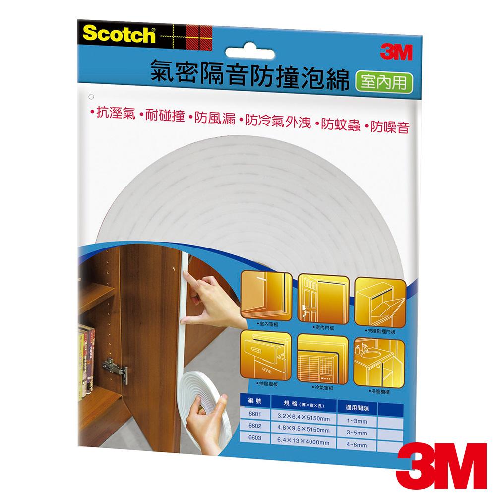 3M 室內用氣密隔音防撞泡棉(4-6MM)