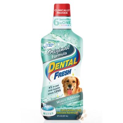 美國DENTALFRESH 犬用-潔牙液(原味版)8oz