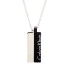 CK Calvin Klein 黑色簡約時尚風項鍊(KJ5RBP210100)
