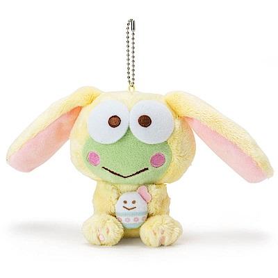 Sanrio 大眼蛙裝扮長耳兔造型玩偶吊鍊(好朋友彩蛋)
