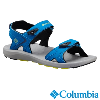 【Columbia哥倫比亞】男-涼鞋-藍色 UBM45110BL