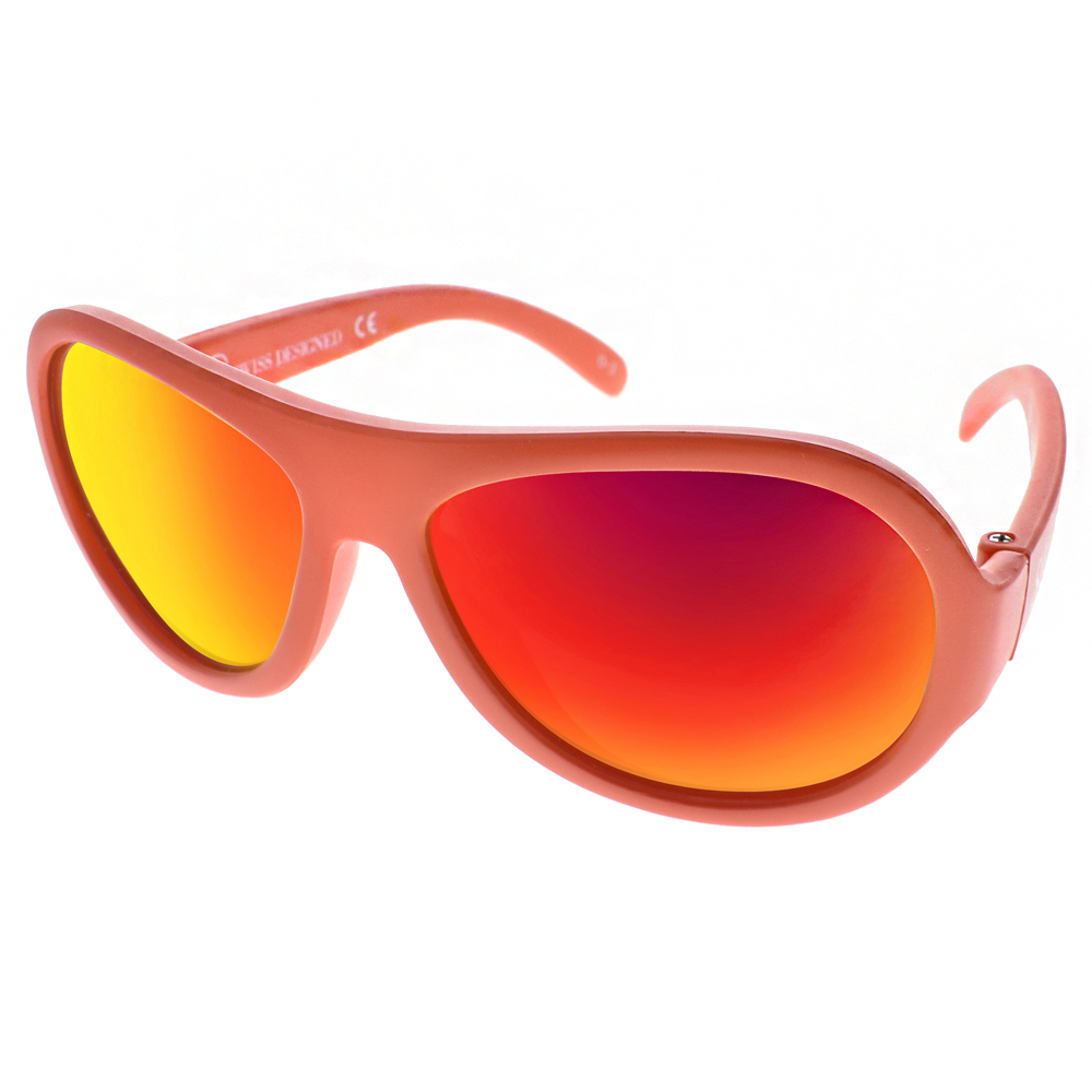SHADEZ兒童太陽眼鏡 無毒可彎曲/橘-橘水銀#SH15SHZ0 C07