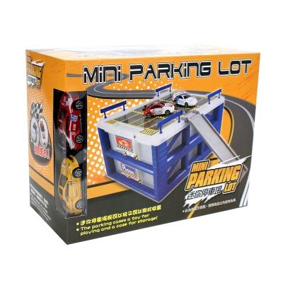 Amuzinc酷比樂 汽車軌道玩具迷你立體停車場(附收納盒) 400522