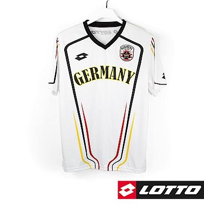 LOTTO 義大利 世足盃國家隊紀念T恤(德國)-白