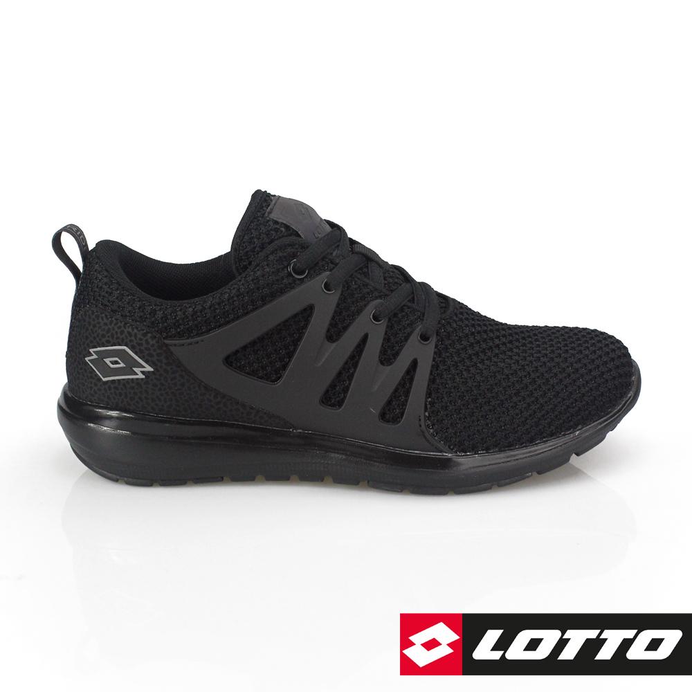 LOTTO 義大利 女 CITYRIDE 潮流跑鞋(黑)