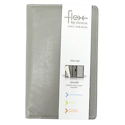 Filofax Slim Flex Smooth 小牛皮 石頭灰
