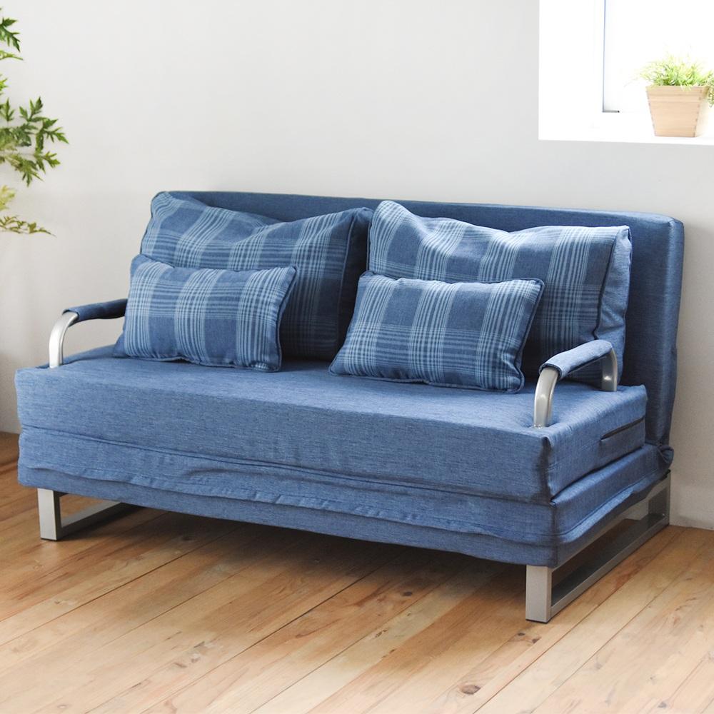 完美主義 雙人沙發/獨立筒/沙發床/愛爾蘭格子(4色)