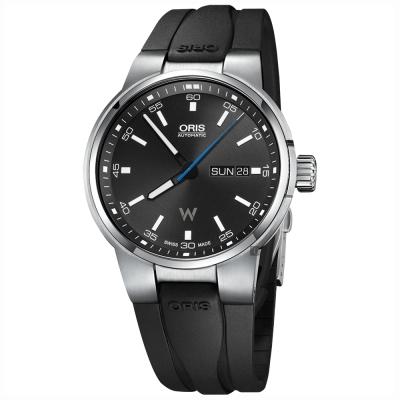 Oris豪利時 Willimas F1賽車系列日曆星期機械錶-黑/42mm