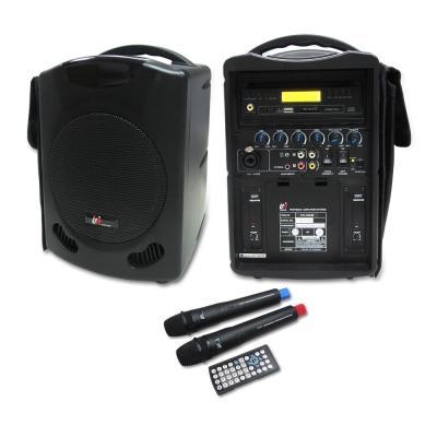 UR SOUND 雙頻DVD/SD/USB無線手提擴音機 PU302D