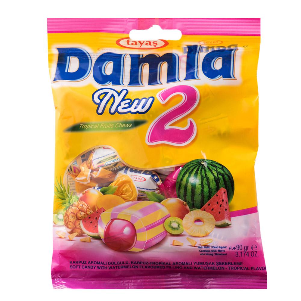 岱瑪菈 雙色熱帶水果風味軟糖(90g)