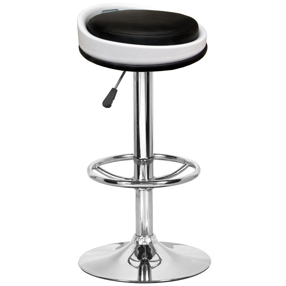 E-Style 高級舒適型PU皮革椅面-吧台椅/洽談椅/會客椅/高腳椅(1入組)三色