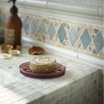 YAMAZAKI 金色年代肥皂架-紫