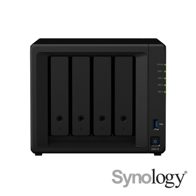 Synology DS418 4Bay網路儲存伺服器