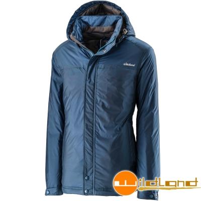 Wildland 荒野 0A22906-46土耳其藍 男 輕量杜邦棉防風防潑外套