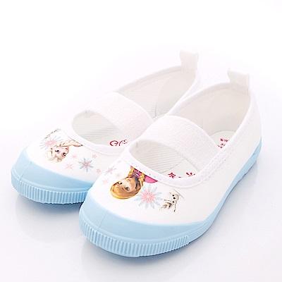 日本Carrot機能童鞋-冰雪奇緣室內鞋NS019藍(中小童段)HN