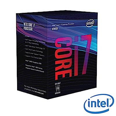 Intel 第八代 Core i7-8700 六核心處理器