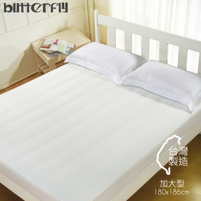 BUTTERFLY - 保潔墊 加大型180x186 床包式完整包覆 台灣製造