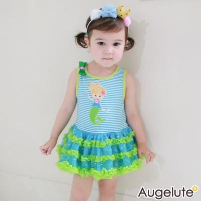 baby童衣包屁裙條紋美人魚紗紗裙42174