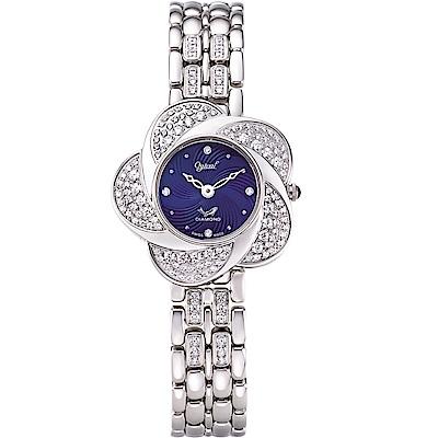 Ogival 愛其華 戀香珠寶錶-典雅藍   380-39DLW