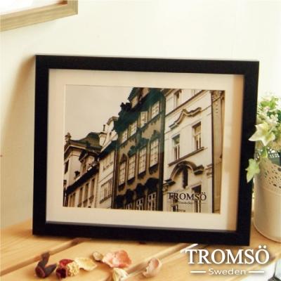 TROMSO-風格主義實木8X10相框-黑色