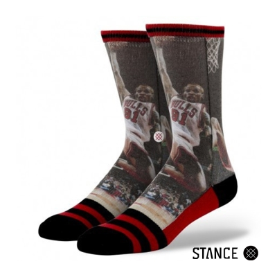STANCE DENNIS RODMAN-男襪-NBA傳奇球星襪