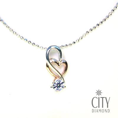 City Diamond『月戀銀河』K金項鍊