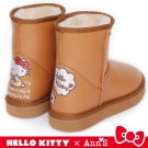 HELLO KITTY X Ann'S 閃亮日子防潑水雪靴禮盒 杏