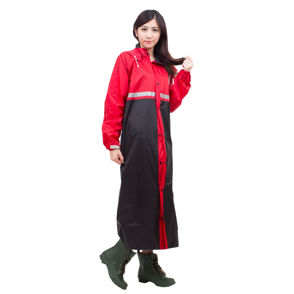 達新牌-韓風達新將前開式防水風雨衣 product image 1