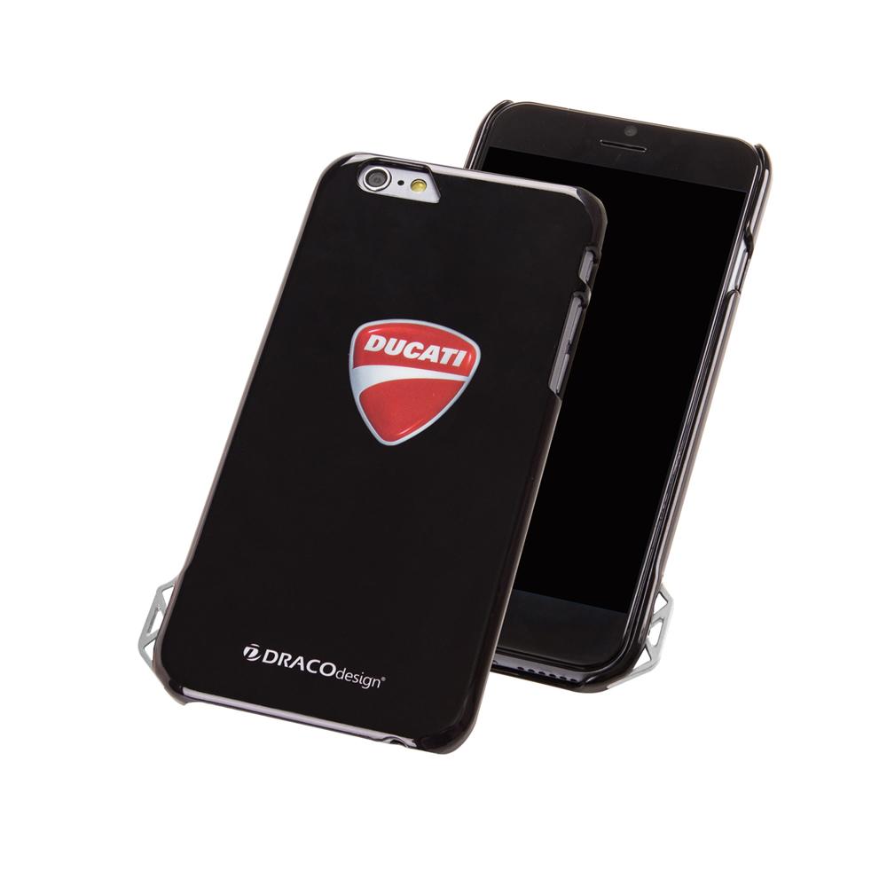 DRACOdesignxDUCATI iphone 6 /6s  手機殼(黑/Ducati盾牌)