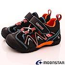 日本月星頂級童鞋 機能護趾速乾款 TW2036藍(小童段)