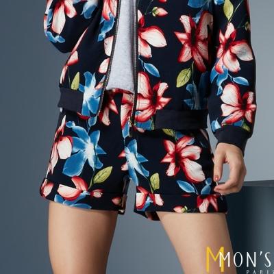 MONS-新潮印花短褲