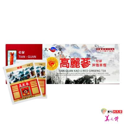 華陀扶元堂 天官高麗蔘沖泡茶包1盒(20入/盒)
