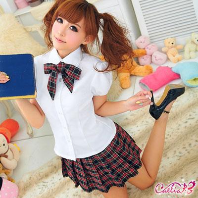 【Caelia】青澀時期!格紋三件式學生服