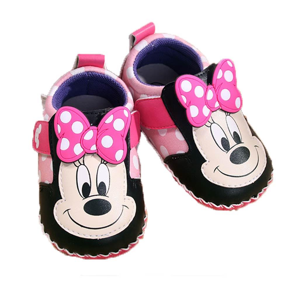 魔法Baby寶寶鞋 米妮授權寶寶外出鞋sh7629