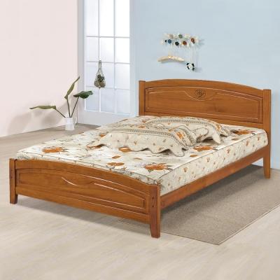 Homelike 夏爾實木床架-雙人 5 尺(不含床墊)