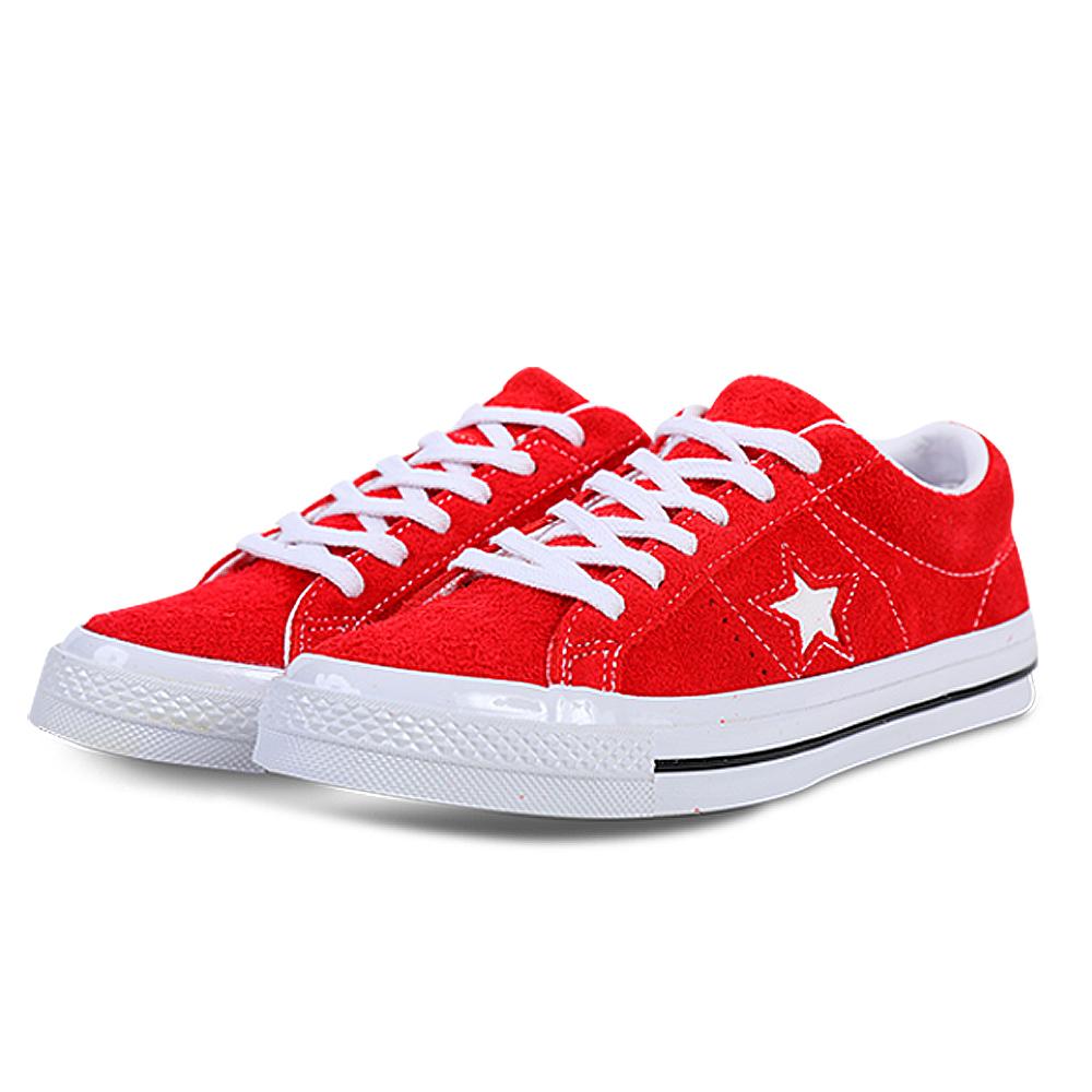 CONVERSE-男女休閒鞋158434C-紅
