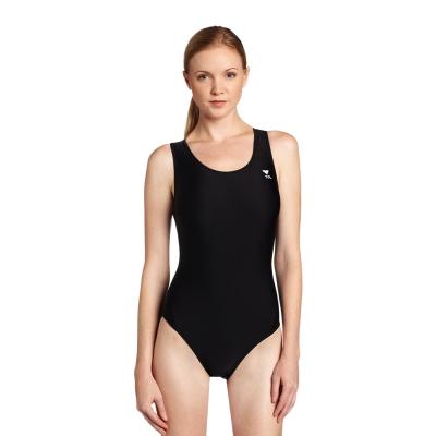 美國TYR女用連身三角黑色訓練款泳裝 Maxback 泳衣 快速到貨