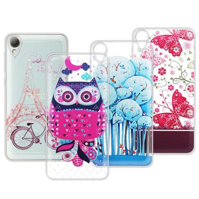 VXTRA HTC Desire 10 Lifestyle 法式浪漫彩繪手機殼