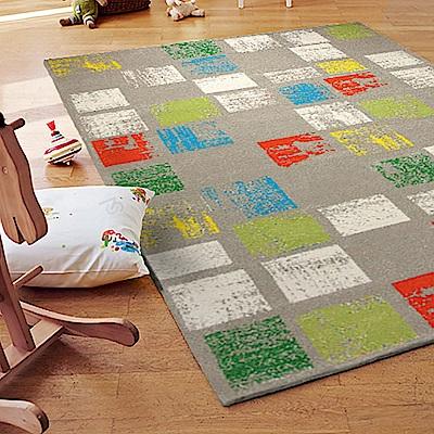 ESPRIT-Zara淺灰情境短毛地毯-80x150cm