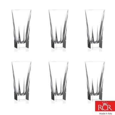 義大利RCR芙斯無鉛水晶果汁杯( 6 入)_ 390 cc