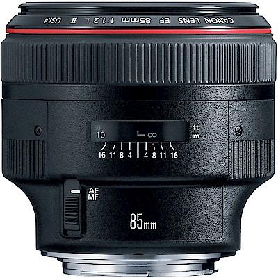Canon EF 85mm f/1.2L II USM 大光圈定焦鏡(平輸)