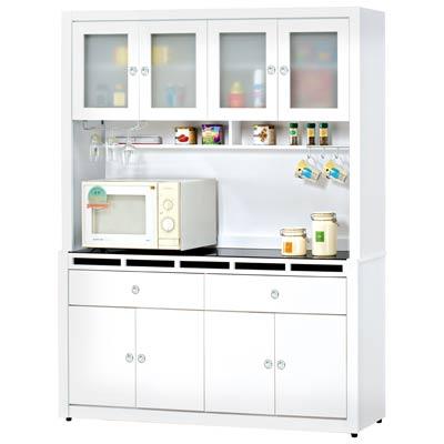 時尚屋裕隆貝多美白色5尺櫥櫃組